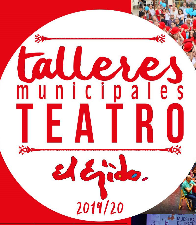Talleres municipales de teatro 2019/20